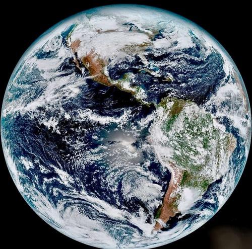 Globe World North America South America Earth
